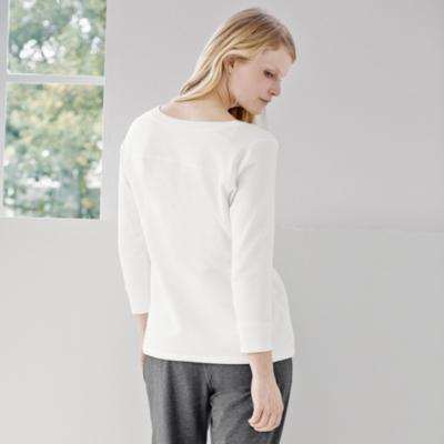 V-Neck Drawstring Sweatshirt