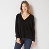 Cashmere Mix V neck Sweater
