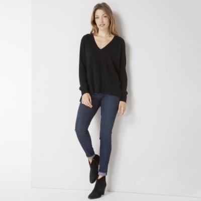 Cashmere Mix V neck Sweater