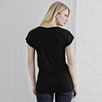 V- Neck Jersey T-Shirt - Black