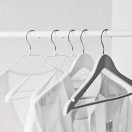 Wide End Knitwear Hangers - Set of 6