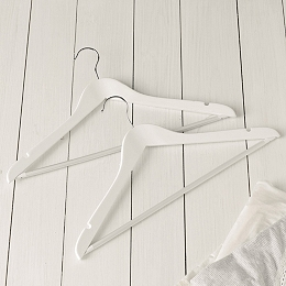 Slimline Universal Hangers – Set of 6