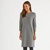 Herringbone Dress with Wool