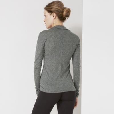 Zip Through Layered Top