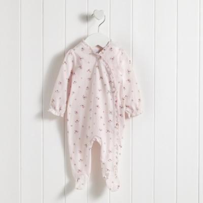 Winter Blossom Sleepsuit