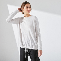 Wool-Cashmere Ribbed Jumper