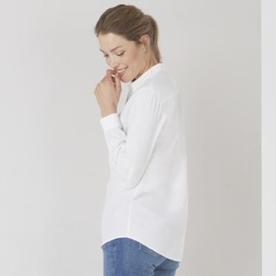 Cotton Washed Shirt - White