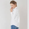 Washed Cotton Shirt - White