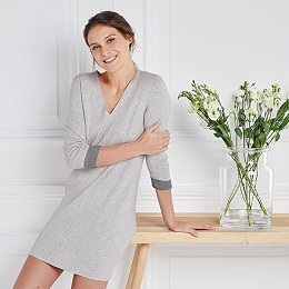 Wool-Cotton Knitted Dress