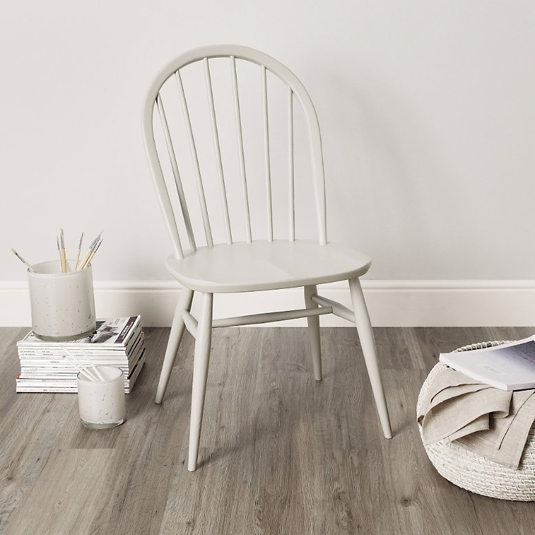 The White Company Ercol Windsor Dining Chair Grey