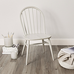 Ercol Windsor Dining Chair - Grey