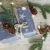 Fir Cone Gift Ties - Set of 3