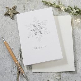 Let It Snow! Christmas Card