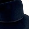 Wool Felt Fedora - Navy