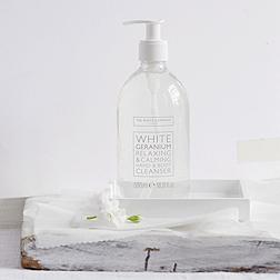 White Geranium Bath & Shower Cleanser