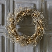 Pre-Lit Beaded Christmas Wreath