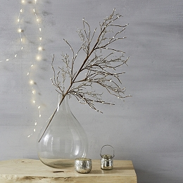 Sparkle Berry Branch Christmas Decoration