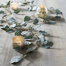 Cedar Leaf Christmas Garland