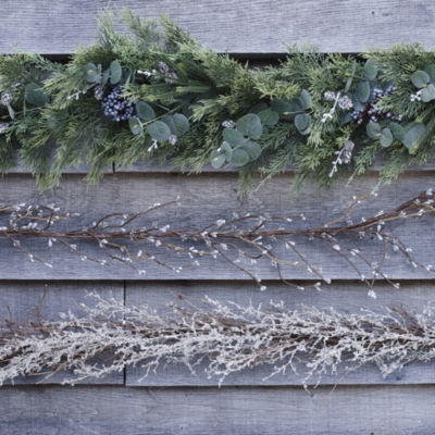 Eucalyptus & Winterberry Garland