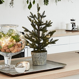 Pre-Lit Nordic Spruce Christmas Tree - 1.5ft