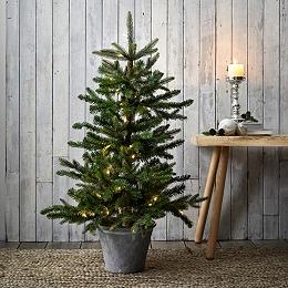 Pre-Lit Christmas Tree - 3.75ft