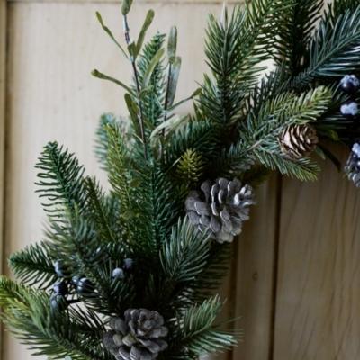 Rosemary & Pinecone Christmas Wreath