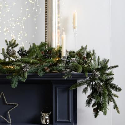 Rosemary & Pinecone Christmas Garland
