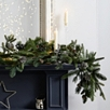 Rosemary & Pinecone Christmas Garland