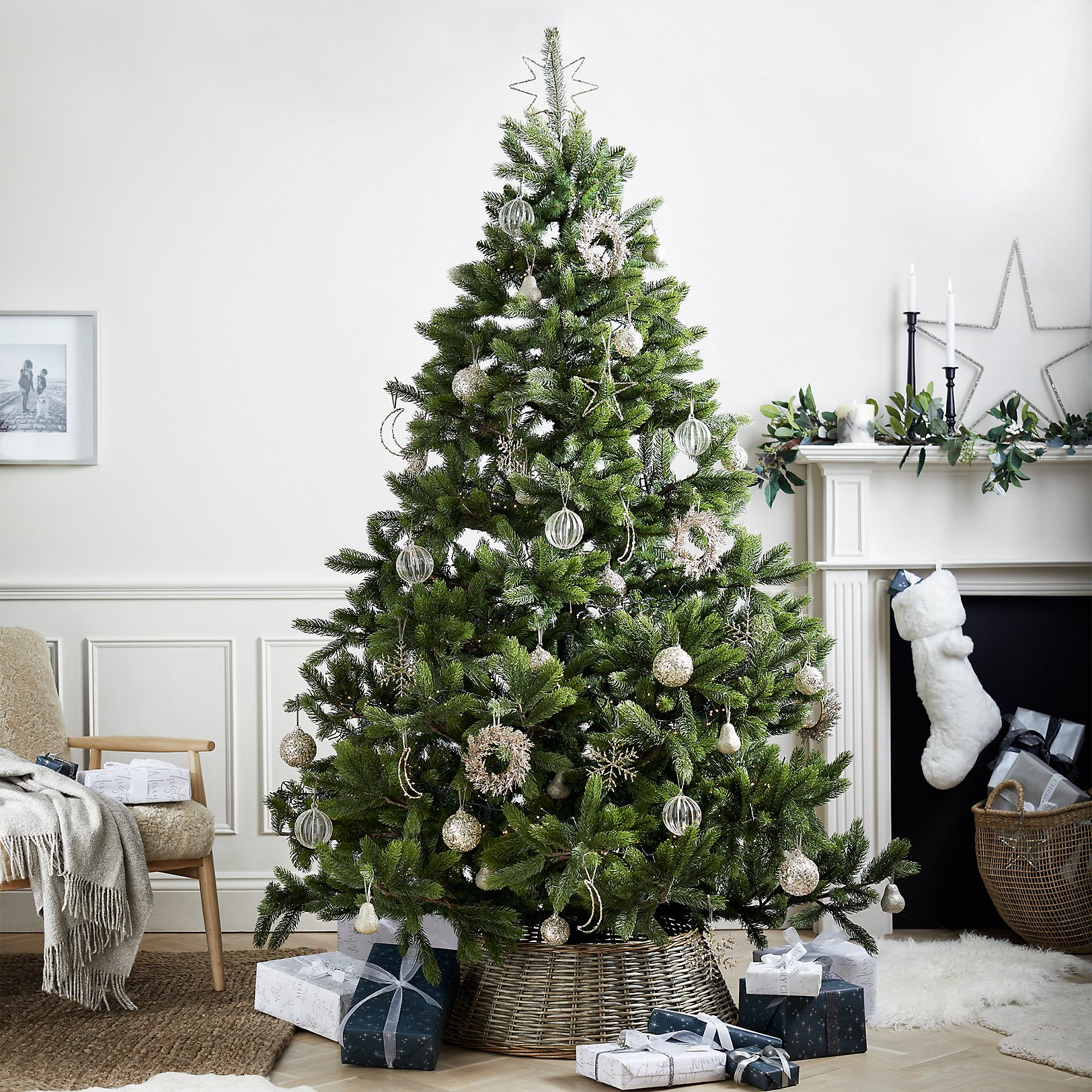 symons nordmann fir christmas tree 75ft - Images For Christmas Decorations