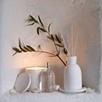 White Geranium Candle