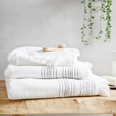 Whitstable Stripe Towels