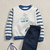 Whale Motif Sweater