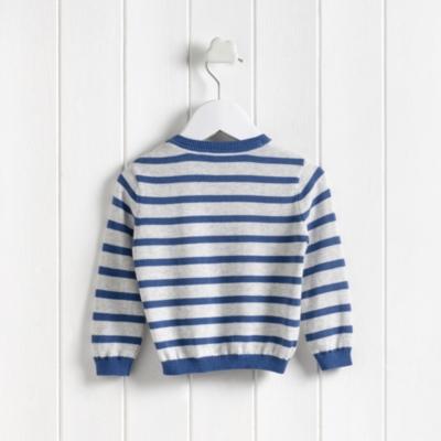 Whale Motif Sweater
