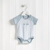 Whale Friends Motif Bodysuit