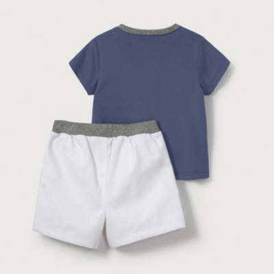 Whale Friends T-Shirt & Shorts Set