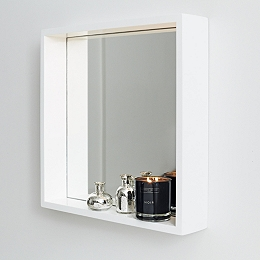 Bathroom Mirror Shelf