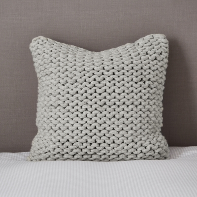 Wilby Cushion Cover - Silver Grey