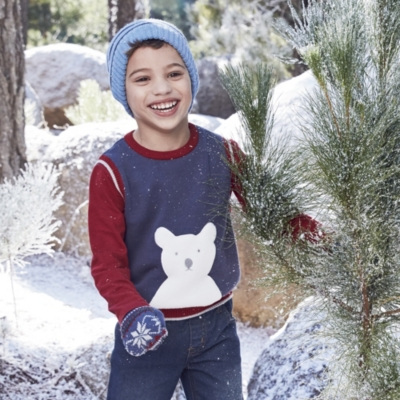 Winter Bear Tank & T-Shirt Set (1-6yrs)