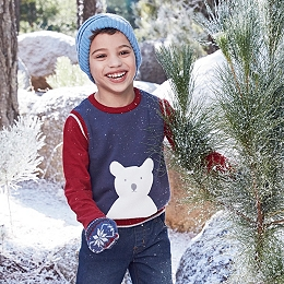 Winter Bear Tank & T-Shirt Set (1-6yrs)