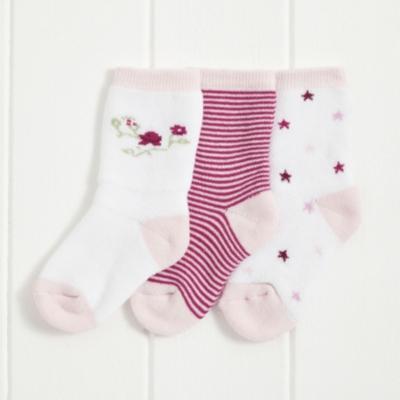 Winter Blossom Sock - Pack of 3