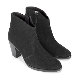 Western Jeans Boots - Black