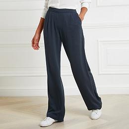 Honeycomb Wide Leg Trousers