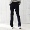 Wide Leg Pants - Navy