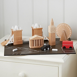 Wooden London City Scape Toy