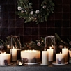 Winter Pillar Candle