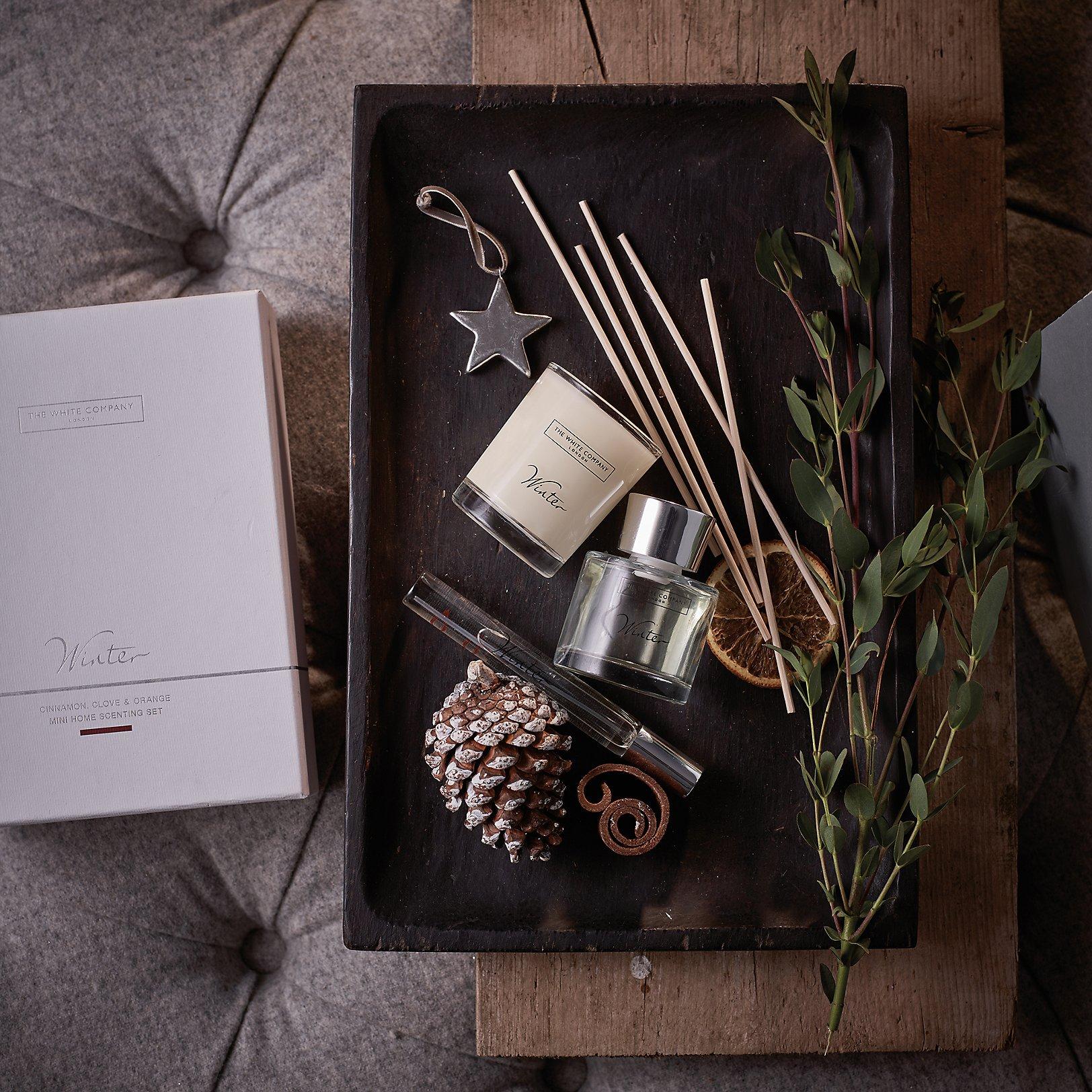 Interior design home fragrance gift set - Winter Collection Winter Mini Home Scenting Set