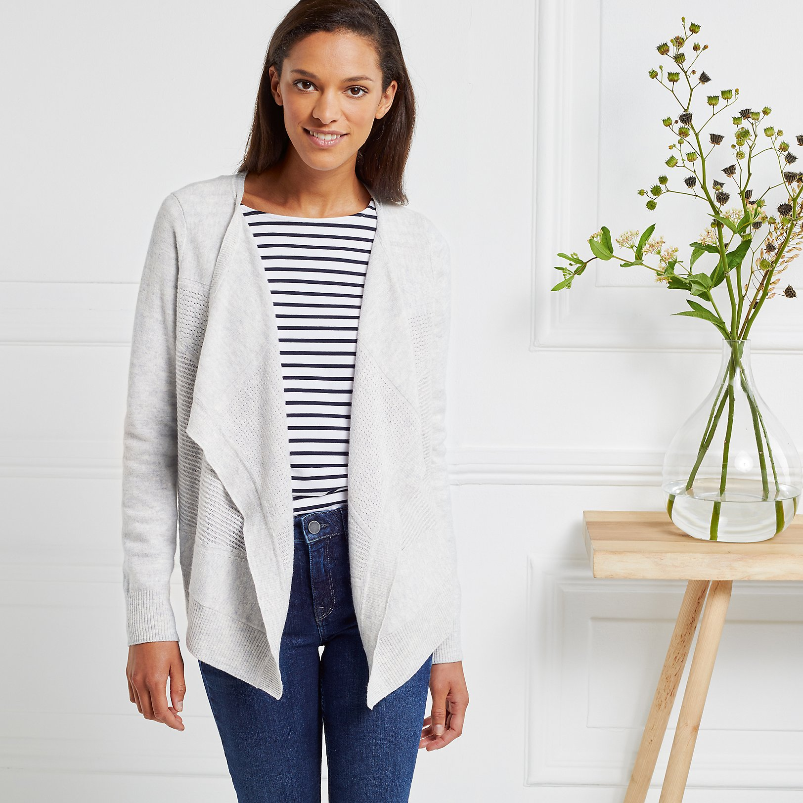 Cardigans | Linen & Wool | The White Company UK
