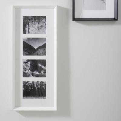 4 App Wooden Frame - White