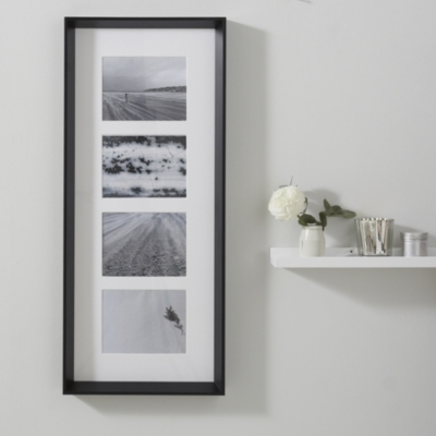 "4 App Wooden Frame 5x7"" - Black"