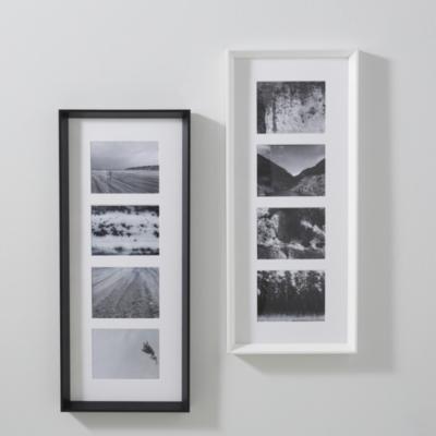 """4 App Wooden Frame 5x7"""" - White"""